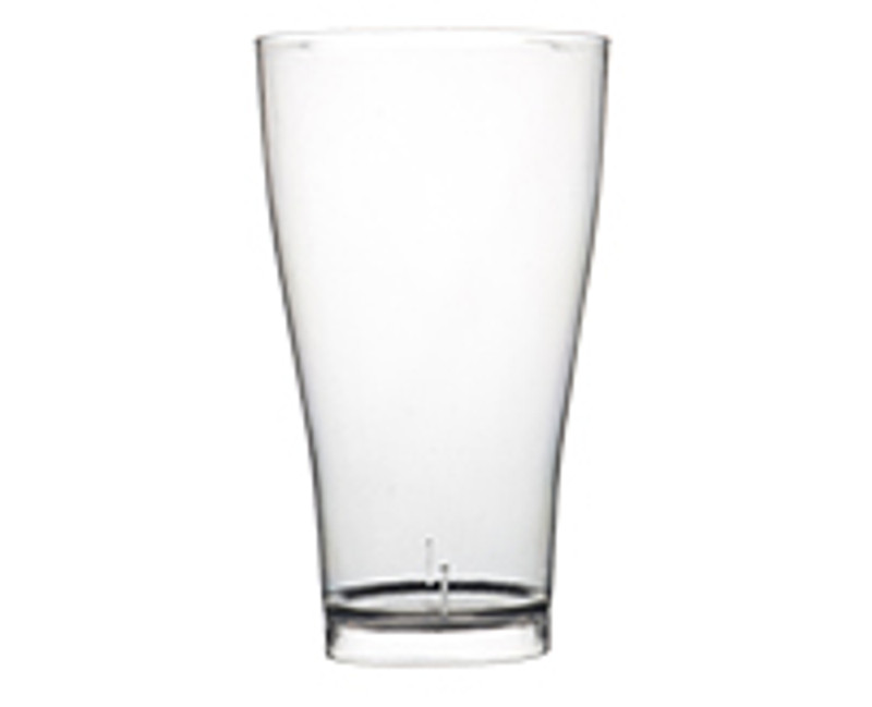 Quenchers 14 oz. Plastic Pilsner Glass