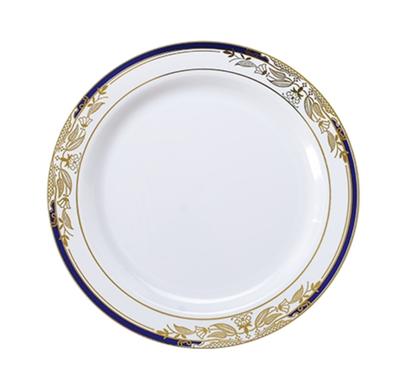 Signature Blu China-Like 7.5\  Plastic Plates  sc 1 st  Partytrends.Ca & Plastic Dinnerware   China Like Plates   Partytrends   Canada