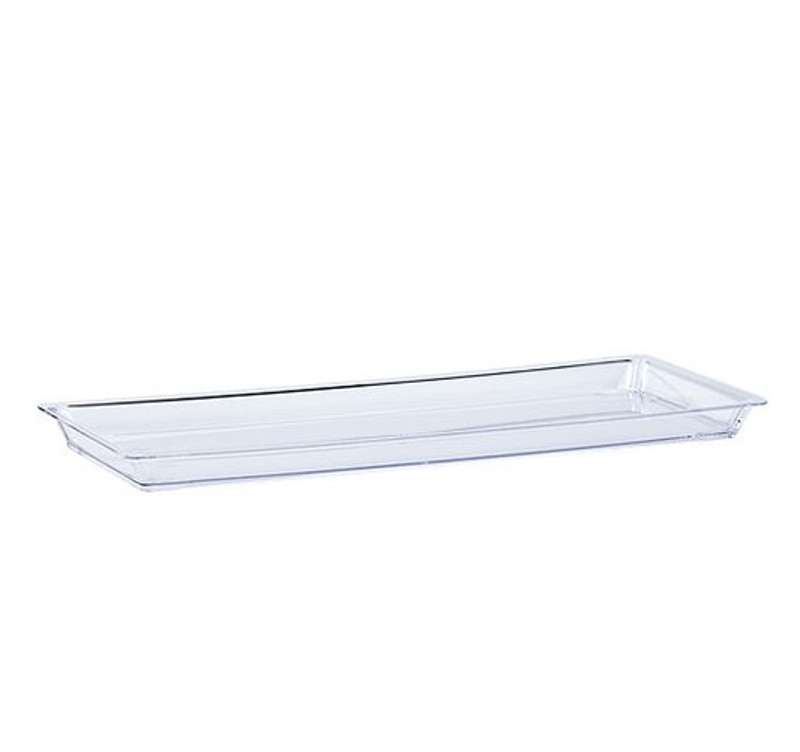 Lillian Mini Rectangle Plastic Presentation Trays