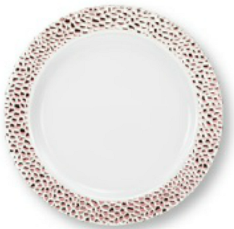 Lillian China-Like Pebbled Rose Gold 10.25\  Plastic Plates  sc 1 th 222 & Elegant Party Supplies Canada - Disposable Plates \u0026 Cups ...