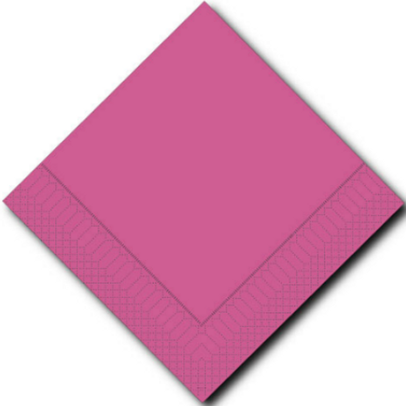 Lillian Fuschia Lunch Napkins