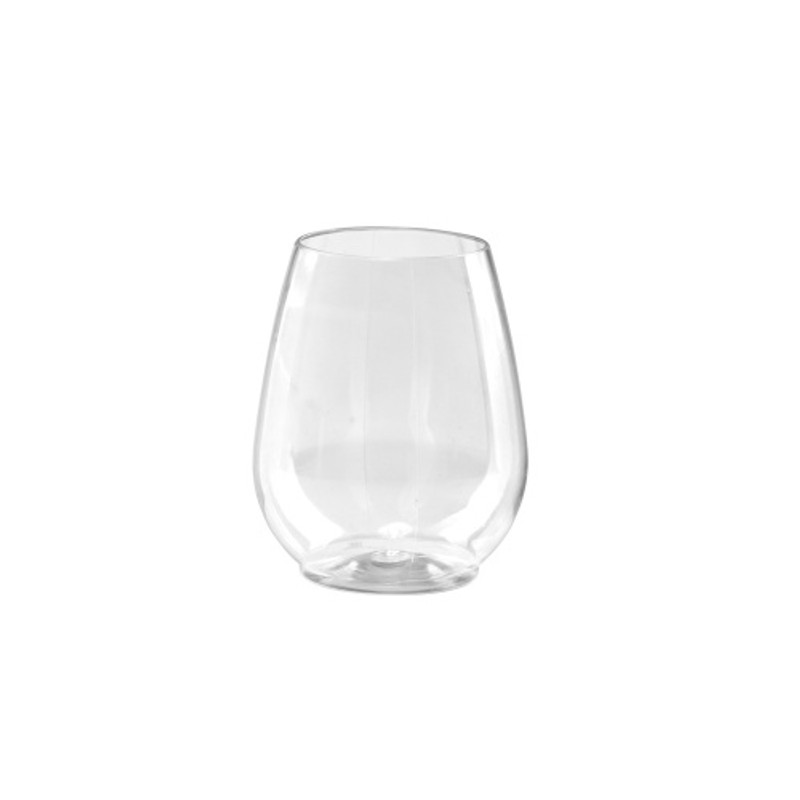 Lillian 4.5 oz. Reusable Plastic Dishwasher Safe Stemless Shot Glasses