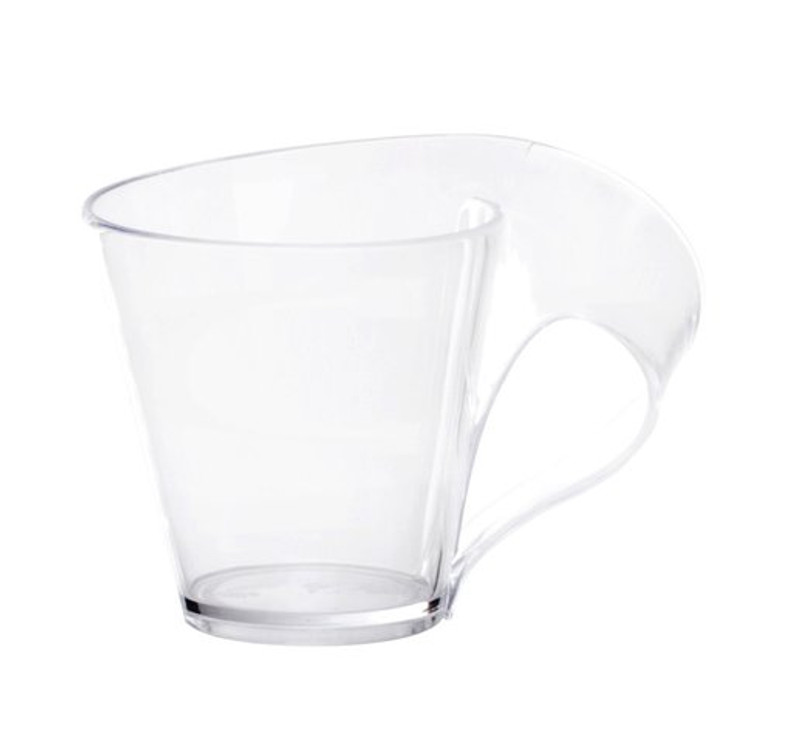 Tiny Tonics 2.7 oz Plastic Clear Espresso Mugs