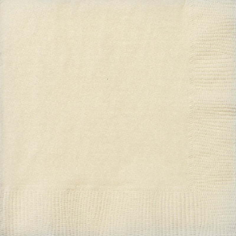 Ivory Lunch Napkins