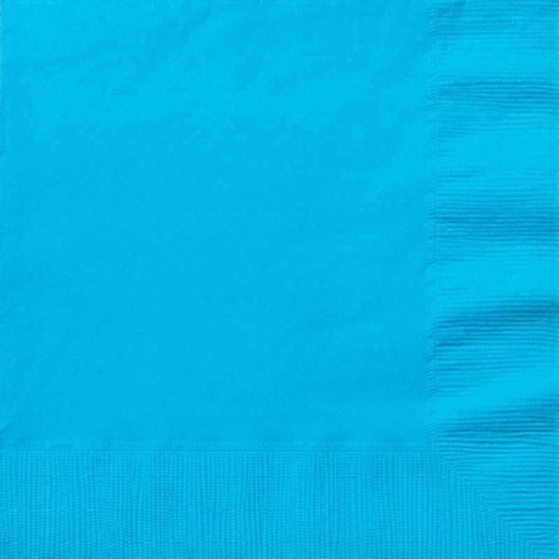 Island Blue Lunch Napkins