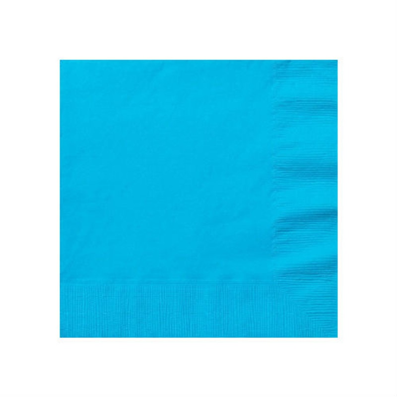 Island Blue Beverage Napkins