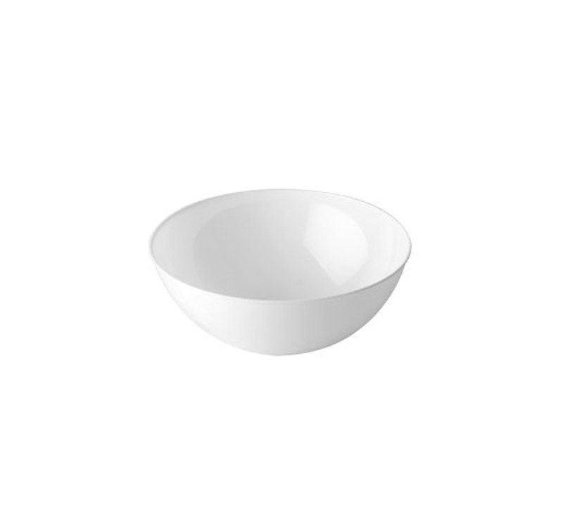 60 oz. White Plastic Serving Bowl
