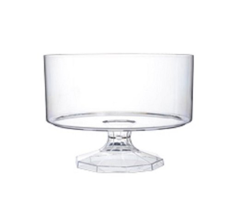"6"" Plastic Trifle Bowl"
