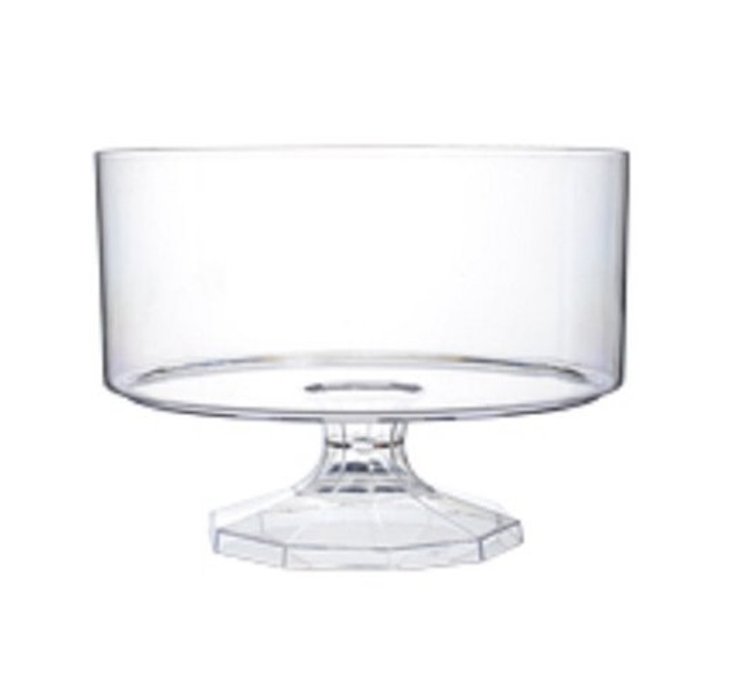 "7.5"" Plastic Trifle Bowl"