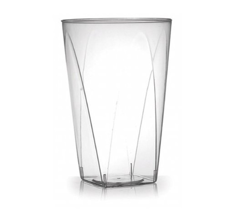 Savvi Serve 10 oz. Plastic Square Bottom Tumblers