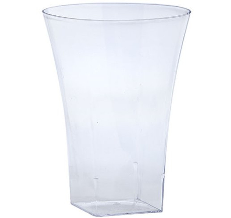 Lillian 14 oz. Flared Clear Plastic Tumblers