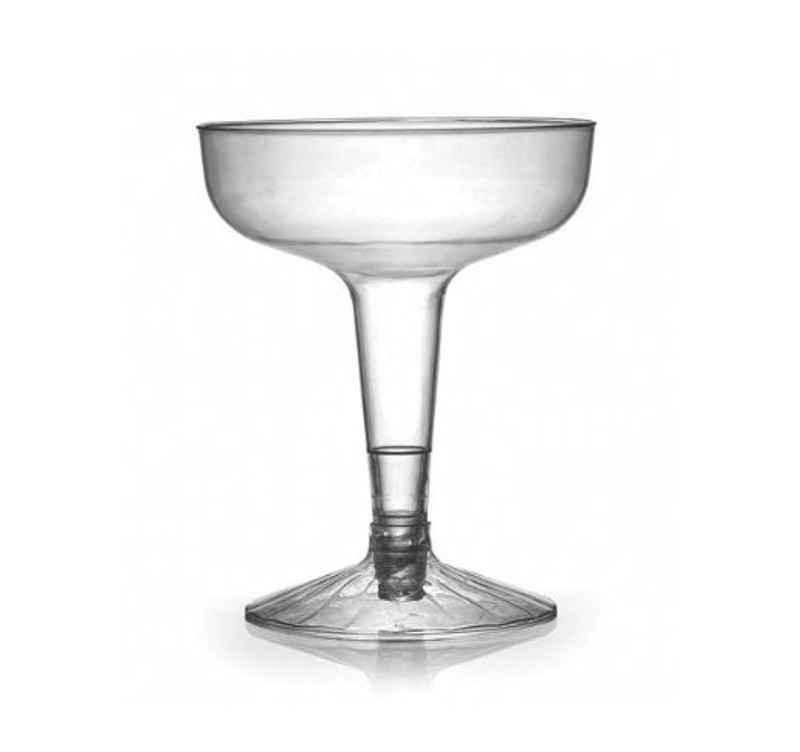 Flairware 4 oz. Plastic Old Fashioned Champagne Glasses