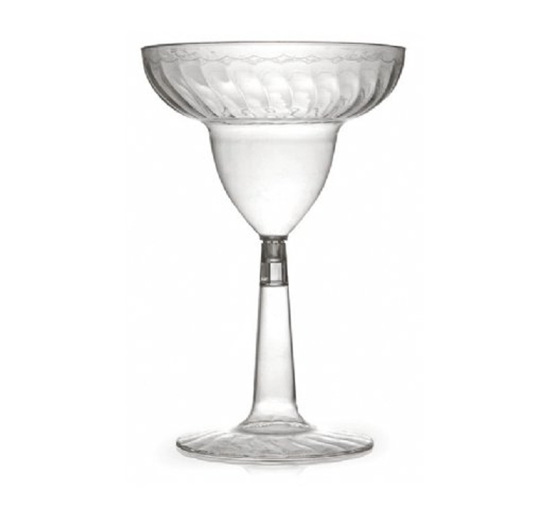 Flairware 12 oz. Plastic Margarita Glasses