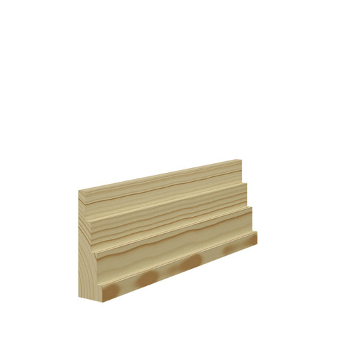 Stepped 4 Pine Architrave