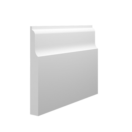 Wave 2 MDF Skirting Board in 18mm HDF