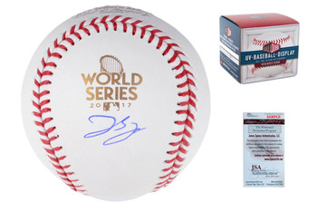 George Springer Autographed Signed 2017 World Series Baseball