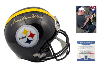 Terry Bradshaw Autographed Pittsburgh Steelers Full Size Helmet