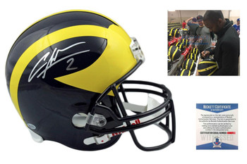 Charles Woodson Autographed Signed Michigan Wolverines Full Size Rep Helmet