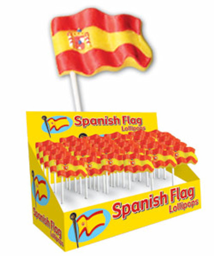 Spanish Flag Lollipops