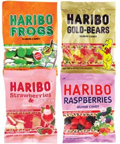 Haribo Frogs Top Left