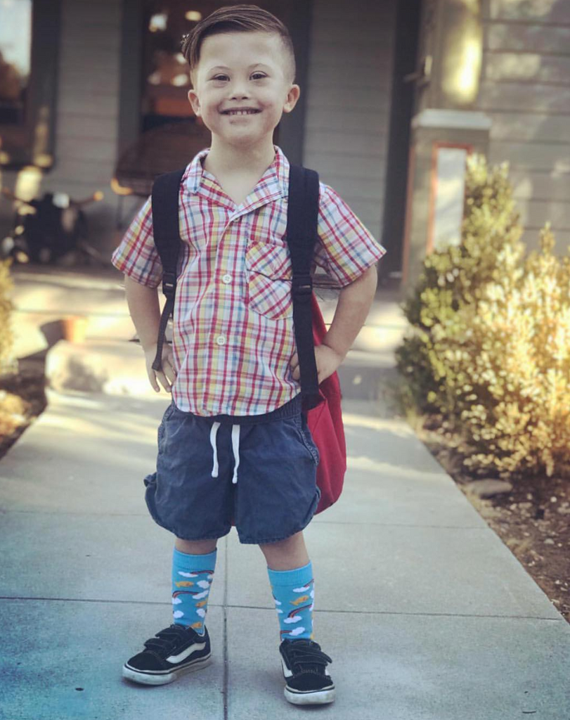 Pride Socks made to help Down Syndrome students attend college