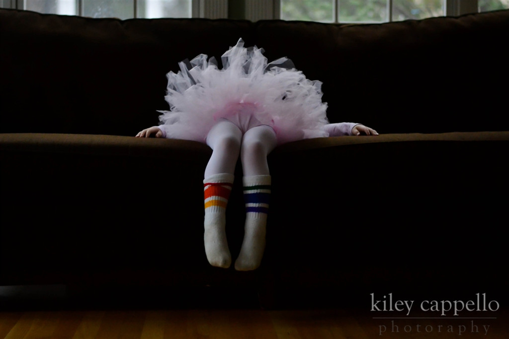 a ballerina with all the courage in the world.