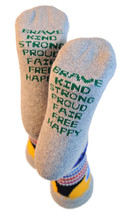 positive intentions pride socks