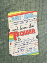 let your loved ones know you are proud of them with your pride socks notes