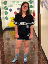 meet izzy.  she was granted a scholarship through rubys rainbow to help those with Down syndrome to attend college.
