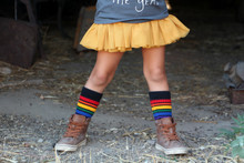 my tutu loves it too when i wearing my black rainbow socks.  people love it when i wear them.