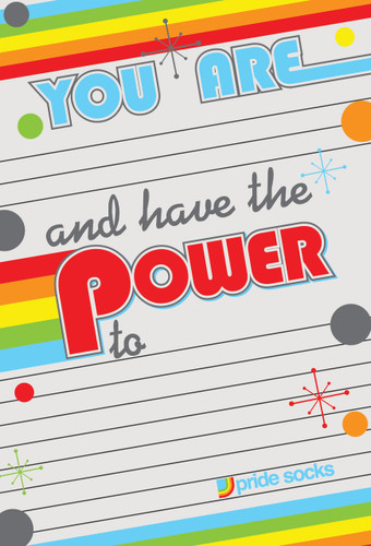 You Have the Power- Retro