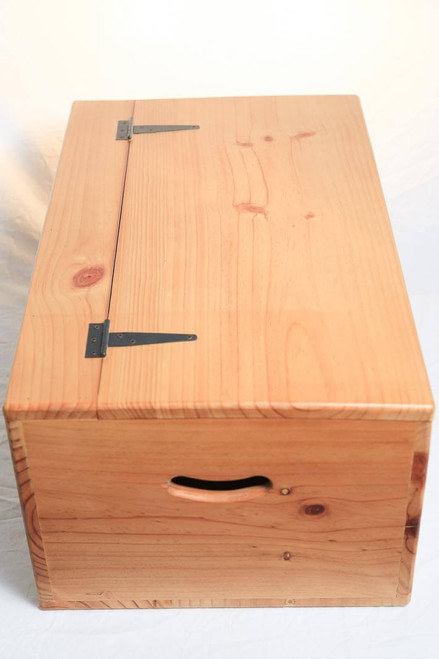 ... The Wooden Box Overall Dimensions In Inches Is 29.6u201d L X 17.7u201d W X ...
