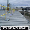 ACCU-FIT GUARDRAIL FOR STANDING SEAM METAL DECKS