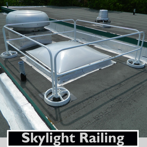 SKYLIGHT GUARDING WITH SRC 360 MOBILE SAFETY RAILING