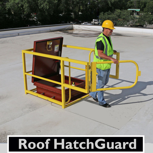 "Roof HatchGuard 42"" x 42"" with 42"" Gate"