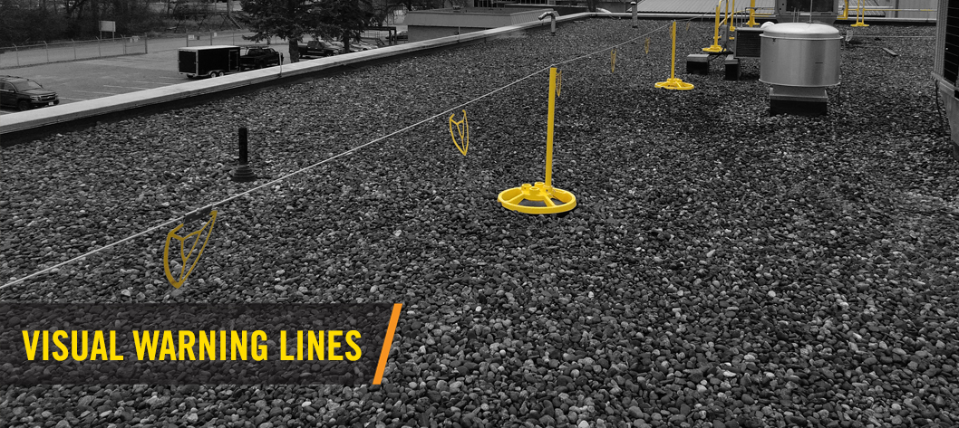 Roof Warning Line System Fall Protection Warning Line