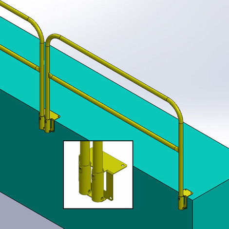 Safety Rail Company Removable Guardrail Systems