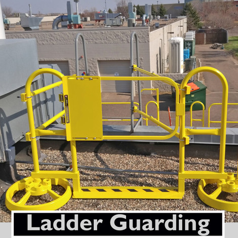 Ladder Guard Ladder Safety Gates Fall Protection