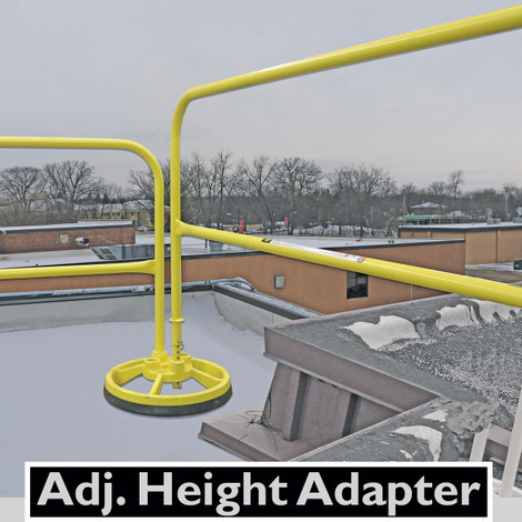 Safety Guardrail Roof Safety Roof Guardrail Systems
