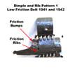 MG34/42 Belt 1941 - 1942 Date & Code Low Friction Pattern