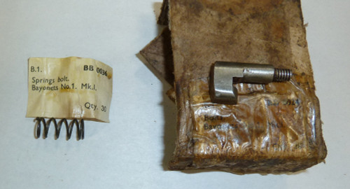 4,6:  1907 Bayonet No. 1 Bolt & Spring