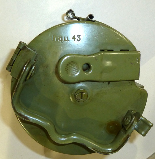 Late War WW2 Marked MG34/42 Basket Drum (Yugo repainted)