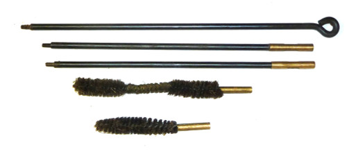 Cleaning Rod with Brushes - MG34 length - 8mm