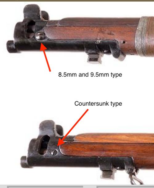 15: nose, SCREW, front (MkIII pattern - head 8.5mm diameter)