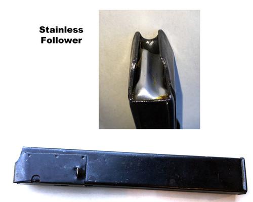STEN Magazine 32 rd original British Issue with Stainless Steel Follower