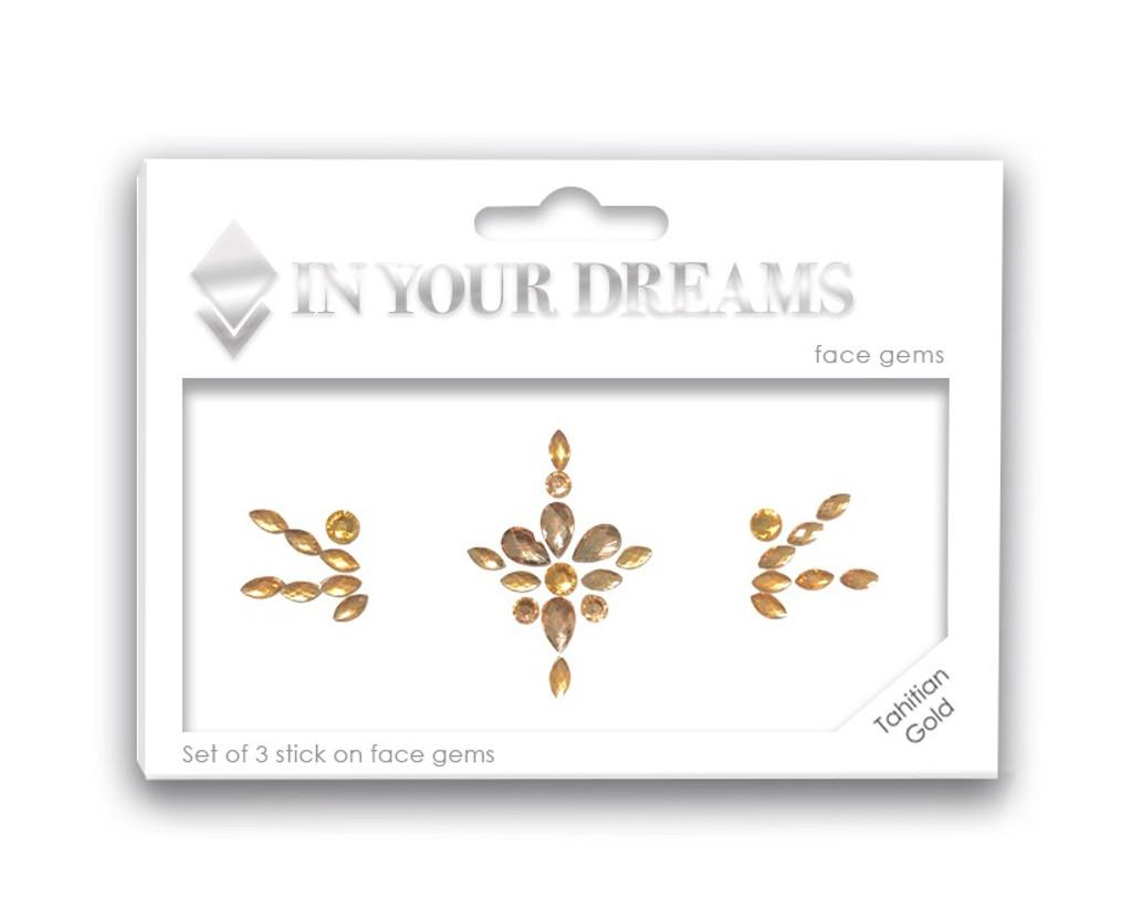 NEW - Tahitian Gold, Jewelled Headpiece