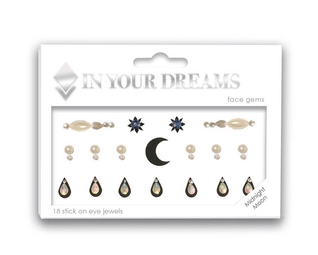 Midnight Moon Face Gems
