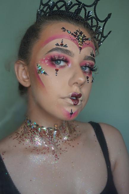 How to: Easy Halloween makeup