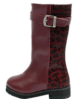 Buddy Jungle Wine Red Leather Boots
