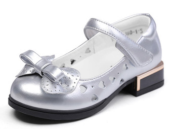 "Snoffy ""Orla"" Silver Leather Shoes"